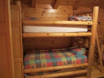 bunkbeds in upstairs bedroom #2