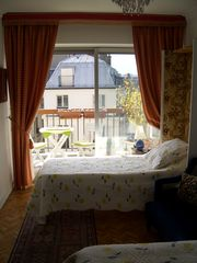 11th Arrondissement Bastille apartment photo - Bed room 1 with balcony