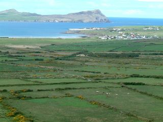 Dingle Peninsula cottage photo - Smerwick harbour with Ballydavid in Background