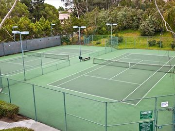 Two Professional Tennis Courts