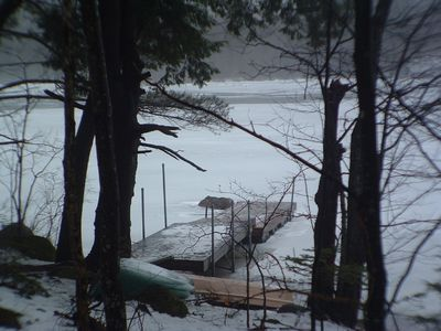 Winter Photo of the Dock