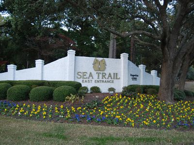 Sea Trail Resort & Golf  east entrance