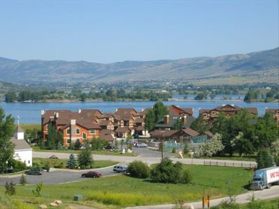 Lakeside Village Resort condo on Pineview Reservoir - Year round adventures!