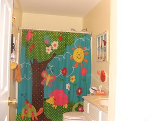 Wildwood condo photo - Large Hall Bath, blow dryer, curling iron and towels for your use.