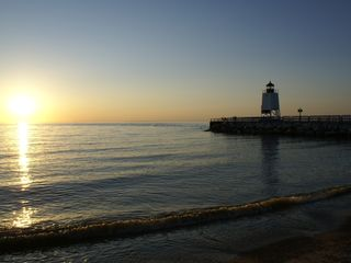 Charlevoix house photo - Lake Michigan Sunsets