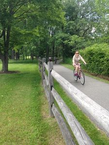 Town of Stowe Recreational Path goes through Stonybrook
