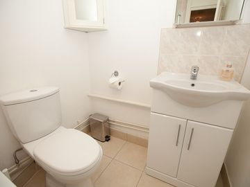 Bathroom with Toilet & Sink