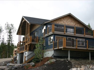 Top Floor Condo, located in the Aspens at Kicking Horse Mountain Resort