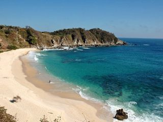 Huatulco villa photo - Fantastic white sand Beach