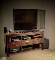 San Diego condo photo - Entertainment center with 52in. Sony HDTV and Sony Blu-ray Home Theater Sytem.