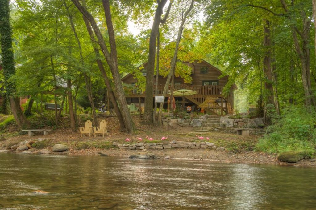 Luxury Cabin On The Chattahoochee River Vrbo