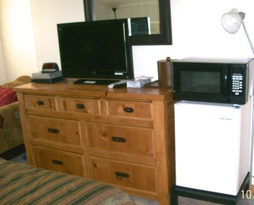Room 312 with Fridge and Microwave
