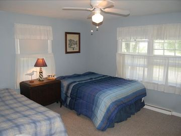 Bedroom Two: Full and Twin Bed