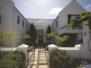 Stellenbosch house rental - Front of property from Coetze St