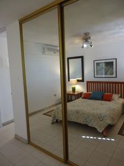 San Juan condo photo - Bedroom - Sliding Glass Closet Doors