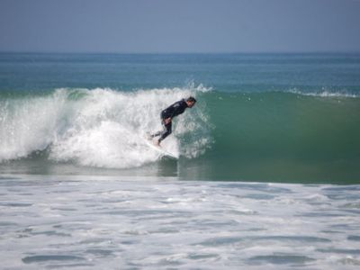 204 beach is great for surfing and just a 3 minute walk away!