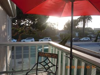 Del Mar condo photo - view from balcony