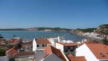 Bay view from São Martinho do Porto town