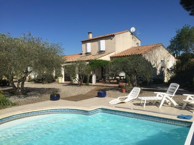Villa in a beautiful village 5 minutes from the city of Carcassonne lake