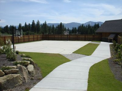 Basketball Court - Basketball Court at the Activity Center.