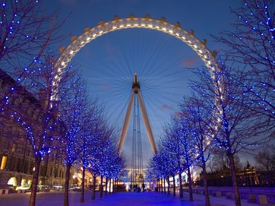 The iconic London Eye