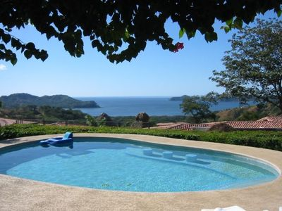 View of the Gulf of Papagayo, Culebra Bay with View of Four Seasons Resort,