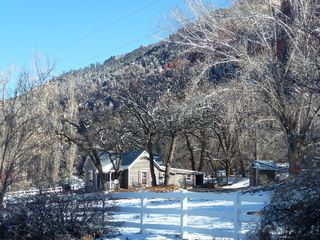 Durango farmhouse photo - Incredible views of the river valley really close to town!