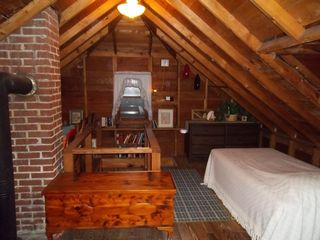 Port Sanilac cottage photo - Upstairs open attack, twin bed