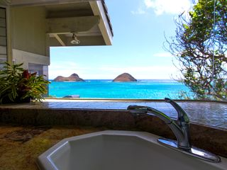 Lanikai house photo - View from the kitchen