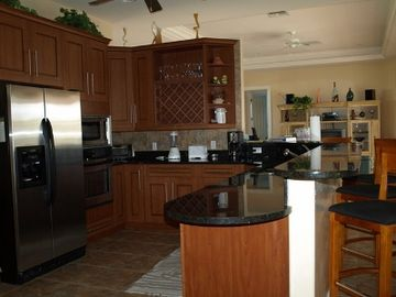 Vacation Homes in Marco Island house rental - State of the Art Gourmet Kitchen