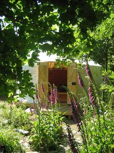 Trallwyn Yurt in The Yurt Gardens