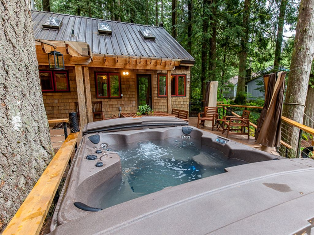 Mt Hood Cabin With Hot Tub And Wifi Vrbo