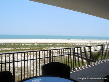 Dauphin Island condo rental - Fabulous 3 Bedrm Gulf-front Condo in Holiday Isles