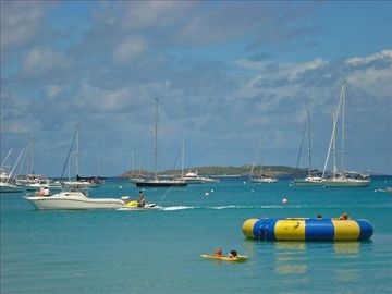 Enjoy watersports on the beach or just sit back and relax...