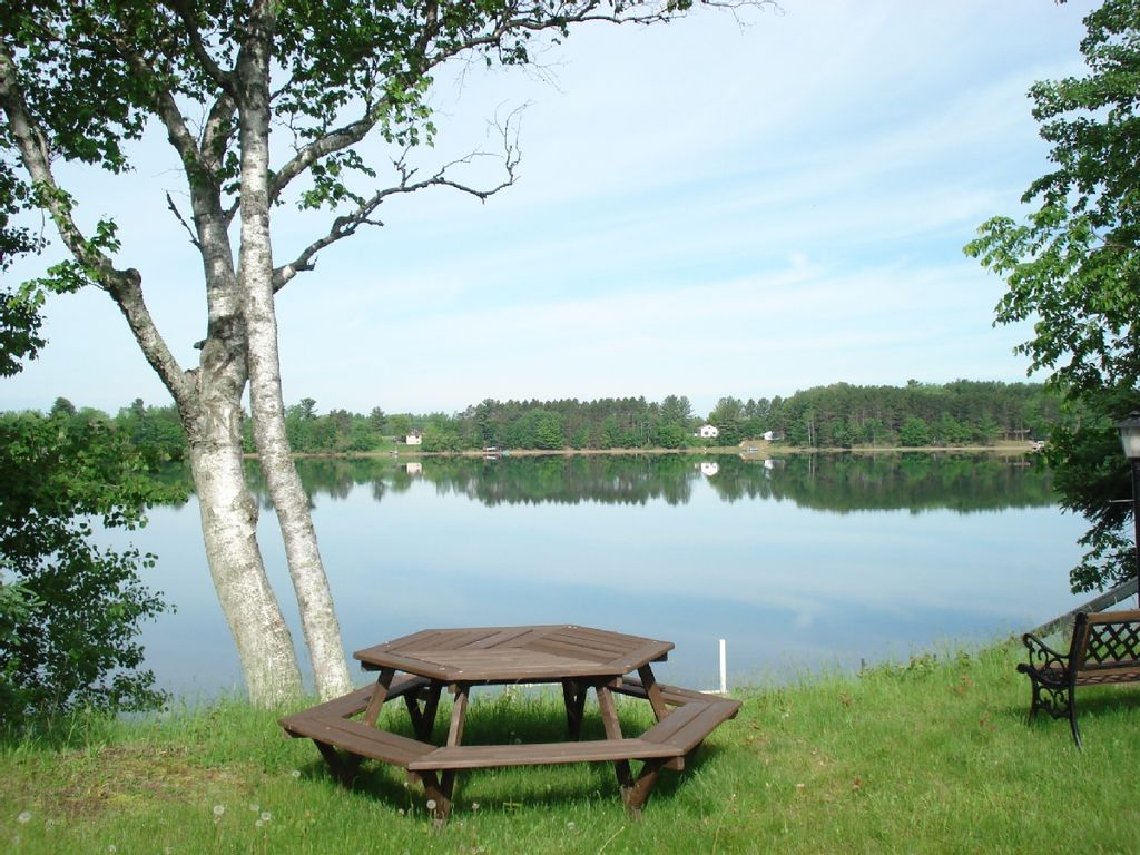 Northern wi home on peaceful windfall homeaway exeland for Fishing cabin rentals wisconsin