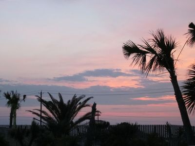 Galveston condo rental - Beautiful Sunsets Every Night from the Largest Balcony in the Complex