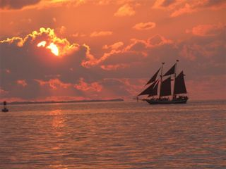 Key West condo photo - The most beautiful sunsets can be seen at Fort Zachary Taylor State Park.