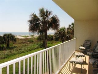 View on the Balcony - Cocoa Beach condo vacation rental photo