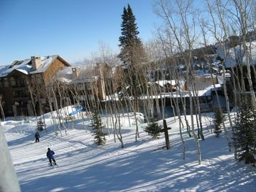 Deer Valley condo rental - Shooting Star's Locker Room is located on the ground level. Just ski right in.