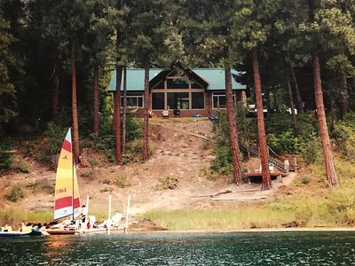 Waterfront Cabin With Dock For Skiing, Tubing And Fishing