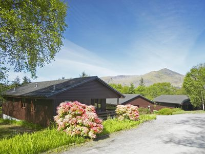 Luxury Woodland Lodge near Glencoe & Fort William with free Golf & Leisure pass