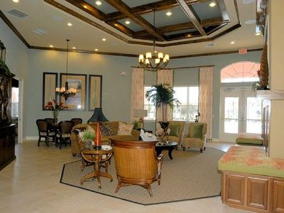 Coral Cay townhome rental - club house
