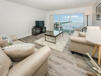 Inauguration! Completely Renovated Beachfront Ocean View Luxury Apartment.