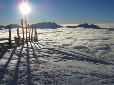 Superb access to skiing