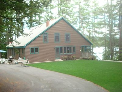 Kossow Lodge,on the West shore of Crescent Lake,can accomodate your large group