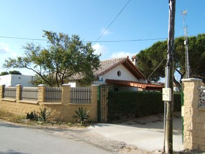 New Galindo (refurbished house with tile roof gable)
