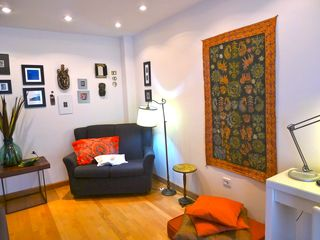 Puerto de la Cruz apartment photo - Reading & office corner with high speed WIFI