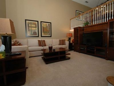 Pleasant living room area in this harborside vacation rental