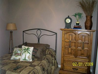Pickwick Lake house rental - Full/Queen bed in 2nd bedroom