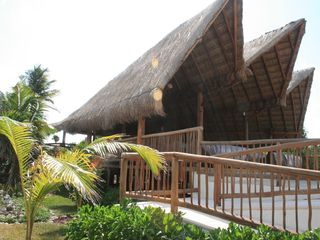 Akumal villa photo - The wedding chapel at Xaac beach at Grand Sirenis.